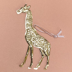 Décoration en laiton - girafe