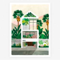 poster dreamhouse - 30X40cm