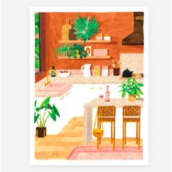 poster kitchen - 30X40cm