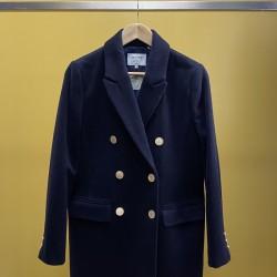 Manteau marine - laine...