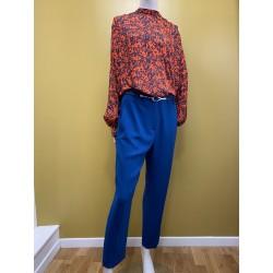 pantalon Tara Jarmon bleu...