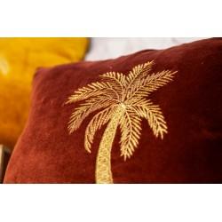coussin en velours palmier...