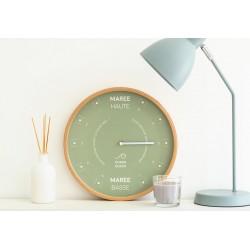 horloge des marées - algae