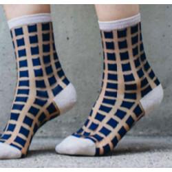 chaussettes transparentes -...