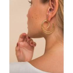 Boucles d'oreille grandes...