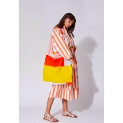 Grand sac de plage - orange