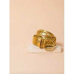 Ceinture tressée gold