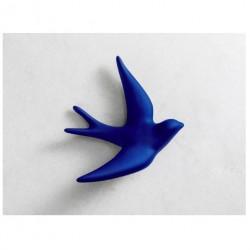 hirondelle bleu outremer