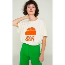 T-shirt follow the sun -...