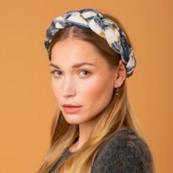 Headband tressé velours -...