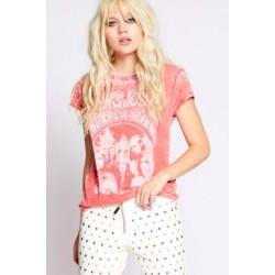 T-shirt Janis Joplin - paprika