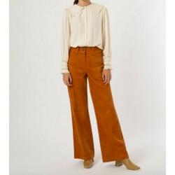 pantalon velours - ocre