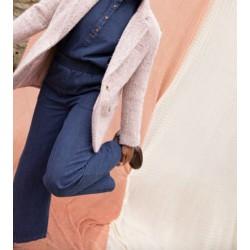 pantalon denim - bleu marine