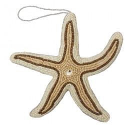décoration brodée - étoile...